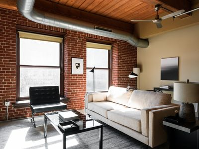 Photo for Arch, Dome, Dtown | Large Loft + Rooftop | Zencity