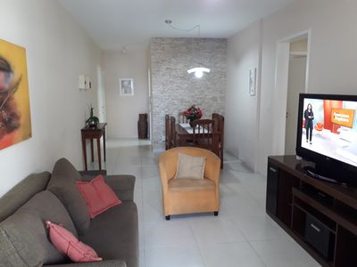 Photo for Comfortable Apt 300 m from Praia do Forte - Cabo Frio Free Wifi.