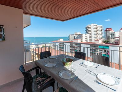 Photo for TORRES DEL MAR - Apartment with sea views in Playa de Gandia.