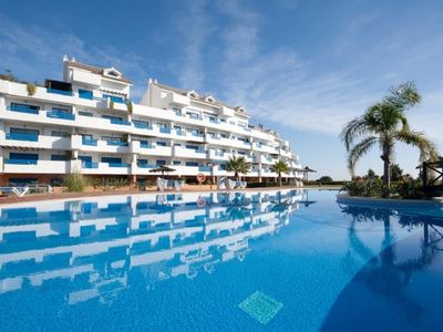 Photo for Great sea view terrace Apartment close to the beautiful Puerto de la Duquesa