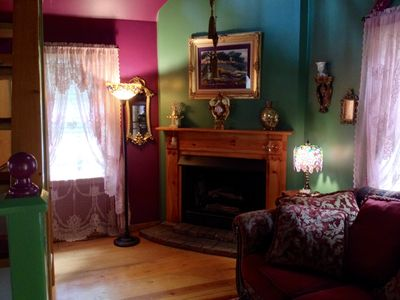 Photo for Secluded Romantic Doll House in Downtown Historic District