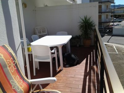 Photo for APARTMENT SANTA MAGARITA 100 METERS BEACH PRIVATE PARKING. 2 LARGE BEDROOMS. LARGE TERRACE WITH CLAME IN DEAD END IN THE CENTER OF SANTA MAGARITA.