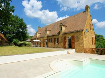 Photo for Large luxury country house with private pool and stunning view