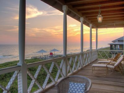 Photo for Pitot Cottage, 30A Cottages, Gulf Front Luxury Home in Rosemary, Panoramic Gulf View, 4 Bikes!