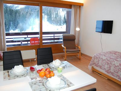 Photo for Apartment in the center of Siviez with Lift, Parking, Internet, Balcony (42961)