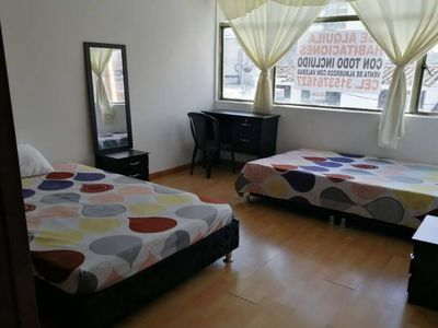 Photo for Private room for 4 people in centrally located apartment
