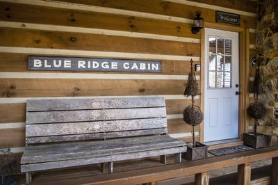Welcome to the Blue Ridge Cabin
