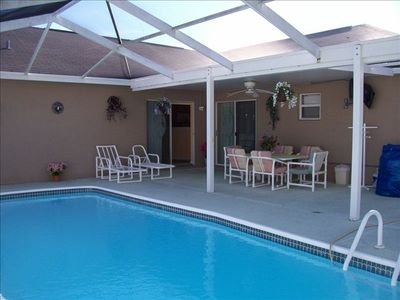 Photo for Luxury, 4 Bedroom Pool Home. Quiet Neighborhood,