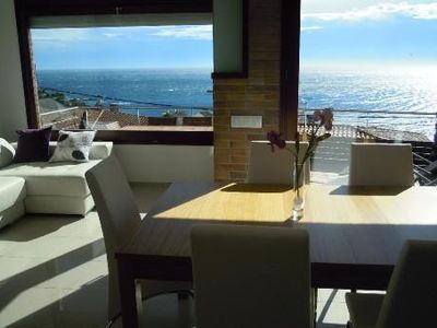 Photo for Superb new apartment, luxury, stunning sea views