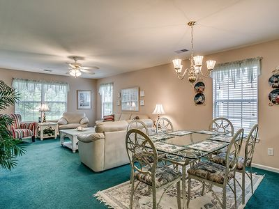 Photo for 1st Floor Condo in True Blue ready for the Course or the Beach!