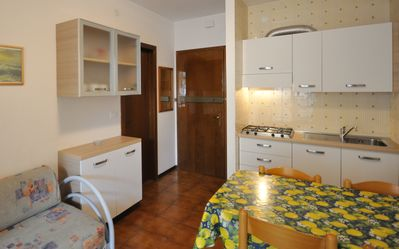 Photo for Tiziano condominium, Bibione, two-room apartment, 5 beds, climate