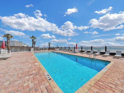 Photo for NEW LISTING! Beachside condo w/shared pool, views -beach lifestyle on a budget