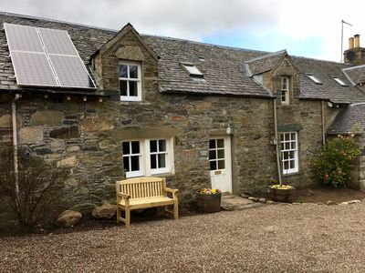Photo for Tastefully upgraded traditional cottage, stunning location, walk to Aberfeldy