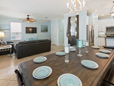 Photo for ☀6BR Flip Flop Inn☀Villages Crystal Bch- OPEN Jun 16 to 19! Lagoon Pool! FunPass