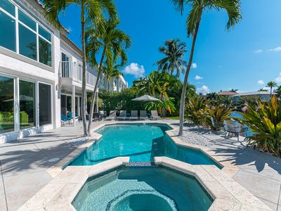 Waterfront Estate Exclusive-Paradise Lighthouse Point Florida Private Pool/Spa