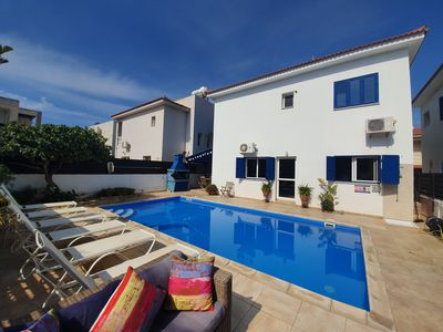 Photo for Villa Chloe - Modern 3 Bedroom Villa with Private Pool and Sea View