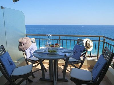 Photo for Beach-Front Apartment in Nice with A/C