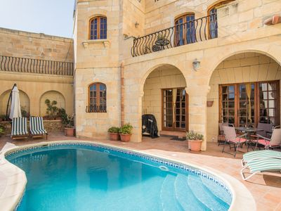 Photo for St Anthony - traditionel farmhouse with pool and extra apartment