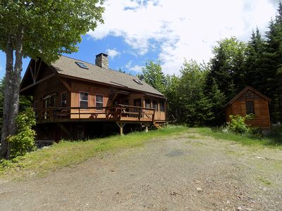Photo for Nice home in private location on Loon Lake Road