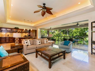 Photo for New Listing! Beautifully Designed! Steps From the Pool! Ho'olei 12-4