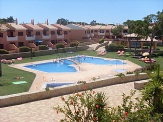 View of pool from terrace