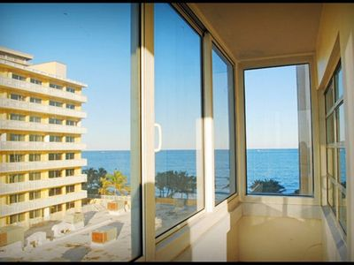 Photo for Beach 100% open& Resort+pool NE ocean view Ft. Lauderdale directly on sand big2/