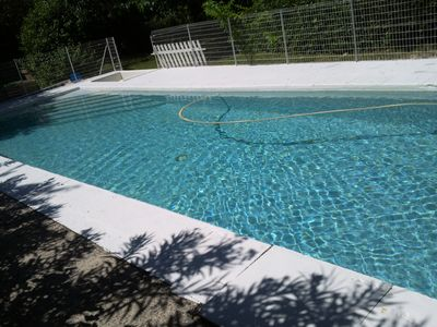 Photo for In beautiful park fenced private pool. 6pers MAX