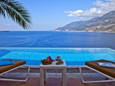 Photo for Immaculate Designer Villa Sleeps 8 With Private Infinity Pool in Kas