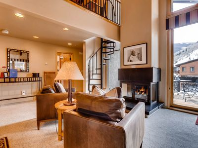 Photo for Luxury Penthouse in the Heart of Vail Village with A/C and Stunning Views  C