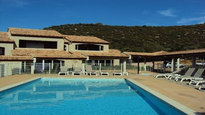 Photo for small residence with swimming pool in peace, has 5 Min beaches and st florent