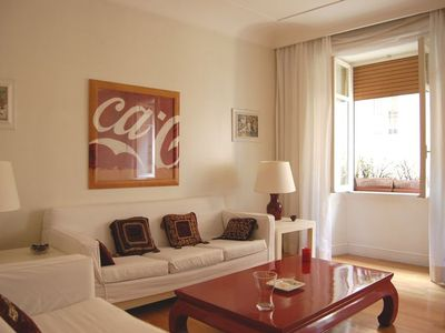 Photo for 1BR Apartment Vacation Rental in Rome Centre
