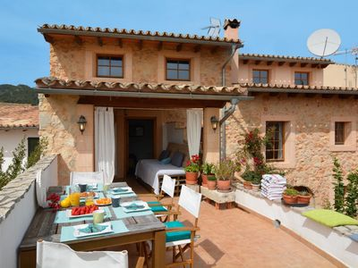 Photo for Mallorca traditional stone village house