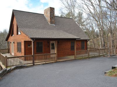 Photo for Log Cabin In The Mountains. Access To The New River And Close To Blue Ridge Pkwy