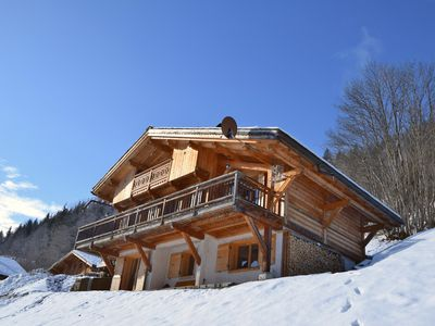 Photo for Magnificent chalet with luxury features for 9 people - incredible view