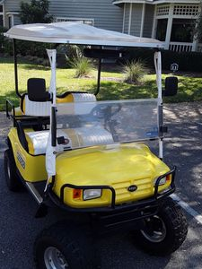 GOLF CART INCLUDED... free use within gated property. WHY NOT DRIVE THE FAMILY?