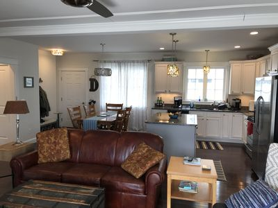 Photo for Gorgeous like new condo with direct view of the Ogunquit river