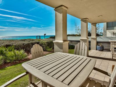 Photo for `Sunset 102C` Seacrest Beach Gulf Front Vacation Rental 3 Free Bikes