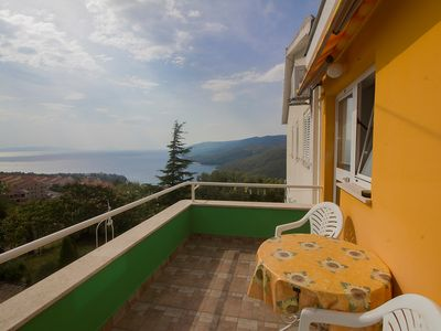 Photo for Holiday apartment with sea view and WiFi