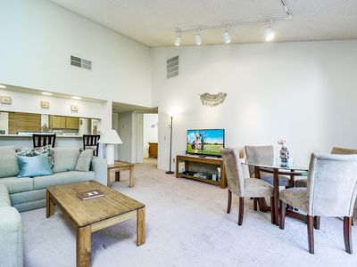 Photo for 2BR, 1.5BA Palm Desert Resort Townhome on Golf Course