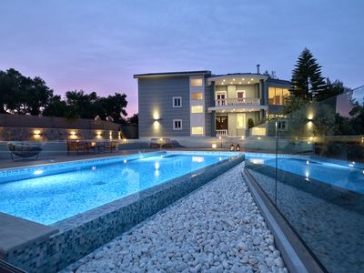 Photo for Mont Bleu Villa, 5 bedroom luxury villa