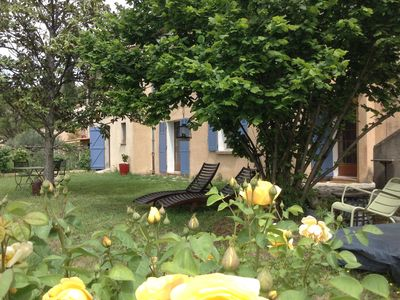 "Photo for NEW! The other House COTIGNAC ""all included"" large garden splendid view center"