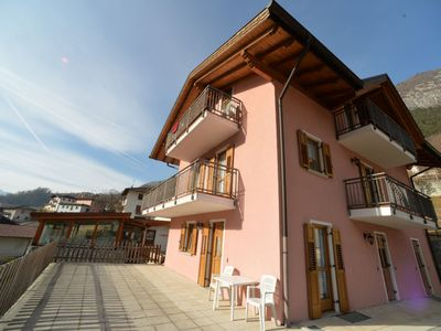 Photo for 3 bedroom Apartment, sleeps 6 in Bordiana with Pool