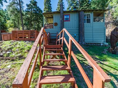 Photo for Blue Jay: Cute, Rustic 2 Bedroom in the Upper Canyon!