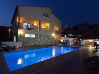 Photo for Wonderful 4 Bedrooms holiday villa  rental near Sitges with Private Pool 8x4