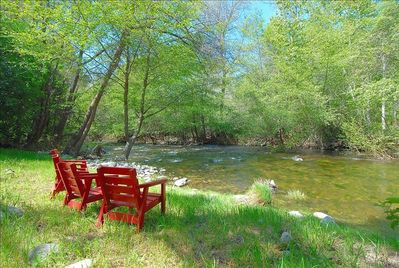 Relax by the river!