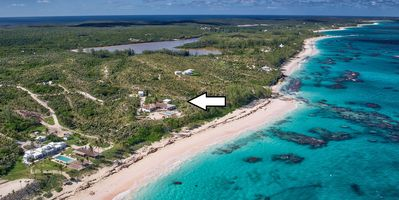 Private Beachfront Estate on 25 Acres w/Pool, Walk to Restaurant/Bar