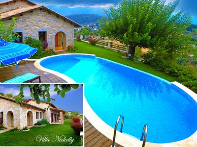 Photo for Villa Nickelly, luxury stone villa: the perfect holiday home