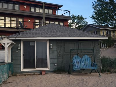 Photo for Little House Of 82 Esplanade on South Haven's North Beach.