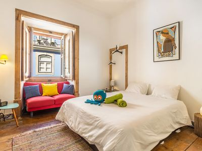 Photo for Colorful double bedroom Lisbon center