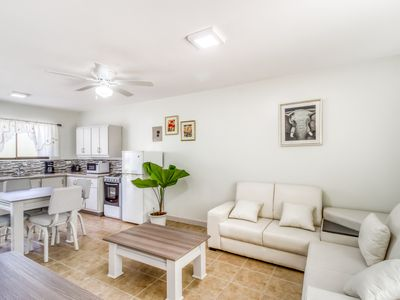 Photo for Relaxing, ground-floor apartment w/ a shared pool & pool spa in Playa del Coco